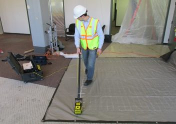 Concrete Floor Rehabilitation – GPR Scanning
